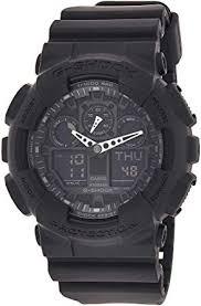 Casio Watch (Model: GA100-1A1): G-SHOCK: Watches - Amazon.com