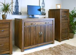 solid walnut hidden home office shiro hidden workstations aston solid oak hidden