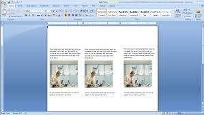 template in microsoft word sanusmentis how to create your own door hangers burris computer forms brochure template in microsoft word step2 open h