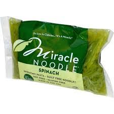 Miracle Noodle, <b>Шпинат</b>, <b>Лапша Ширатаки</b>, <b>7</b> унций (198 г ...