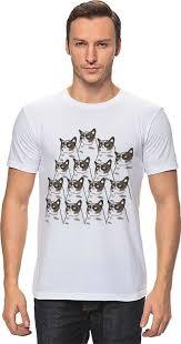 <b>Футболка классическая Printio</b> Grumpy <b>Cats</b> #429744