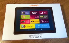 Обзор от покупателя на <b>Планшет Digma Plane</b> 9505 3G графит ...