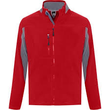 <b>Куртка мужская NORDIC красная</b> (арт. 55500145) под нанесение ...