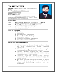 teaching resume format image yourmomhatesthis teaching resume format image