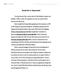 world war  essay  dnnd my ip meworld war ii whose fault university historical and world war ii whose fault