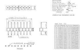 <b>10Pcs Gold Plated</b> Pitch 2.54mm 1x40 Pin 40 Pin Single Row Male ...