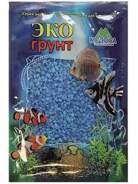 <b>Цветная мраморная крошка Эко</b> грунт 2 5mm 3 5kg Light Blue г ...