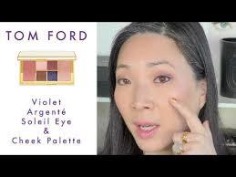 <b>TOM FORD Violet</b> Argenté Soleil Eye & Cheek Palette REVIEW ...