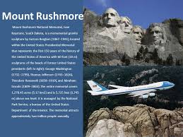 「Mount Rushmore National Memorial Park 1941」の画像検索結果