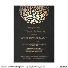 classy chandelier printable invitation customize add text and elegant gold circle sphere black linen look formal 5x7 paper invitation festive yet sophisticated
