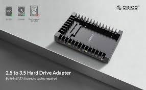 ORICO 2.5 SSD SATA to 3.5 Hard Drive Adapter ... - Amazon.com