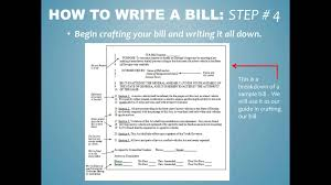 how to write a bill for jya how to write a bill for jya