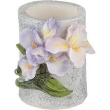 <b>Подставка для зубочисток Lefard</b>, 5 см, сиреневые цветы купить ...