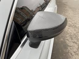 <b>Карбоновые накладки на боковые</b> зеркала. — Audi A3 Sedan, 2.0 ...