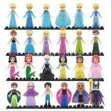 <b>Single Sale Legoinglys Princess</b> with Flying Horse Girl Mermaid ...