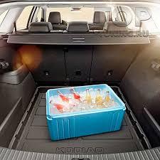 <b>Пластиковый поддон</b> в <b>багажник</b> для KODIAQ