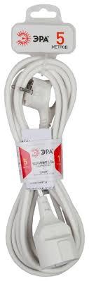 Купить <b>Удлинитель ЭРА U</b>-1е (Б0026330), 5 м по выгодной цене ...