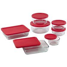 Pyrex Storage Plus <b>Set</b>, <b>14 Piece</b> - Walmart.com