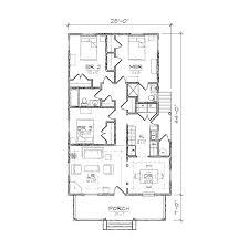 Hinton I Bungalow Floor Plan   TightLines DesignsHinton I floor plan