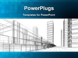 ppt template he words get help here symbolizing the need to offer support and answers abstract 3d office building