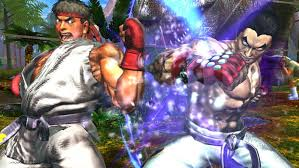 ������ �������� Street Fighter VS Tekken ���� ����� 1.5 MB ��� !!