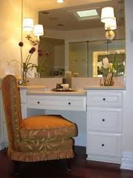 built bathroom vanity design ideas: makeup vanity design ideas pictures remodel and decor i like the drawer