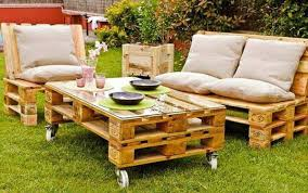 patio furniture from pallets. 38 insanely smart and creative diy outdoor pallet furniture designs to start homesthetics decor 26 patio from pallets