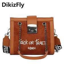 <b>DikizFly Fashion Women Handbag</b> Letter Shoulder Bags Fashion ...