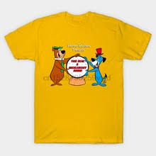 Для мужчин футболка <b>HANNA</b> BARBERA ТВ друзья <b>медведь</b>-Йог ...