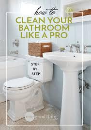 health break shopping list bathroom