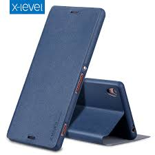 <b>X Level Book Leather Flip</b> Cases For Sony Xperia XA1 5.0 ...