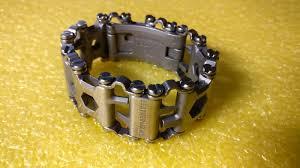 Обзор от покупателя на <b>Браслет Leatherman TREAD</b>, стальной ...