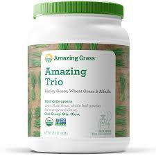 Amazing Grass <b>Amazing Trio</b> Alfalfa, <b>Barley</b>, & Wheatgrass Powder ...