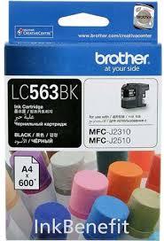 Купить <b>картридж</b> и тонер для принтеров/МФУ <b>Brother LC563BK</b> ...