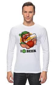 <b>Лонгслив Я люблю</b> Пиво (I love Beer) #715852 от coolmag по ...