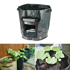 <b>8Pcs DIY Potato Grow</b> Planter PE Cloth Planting Container Bag ...