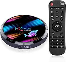 Raxxio <b>H96 Max X3 Android</b> TV Box 9.0 4GB RAM 64GB ROM ...