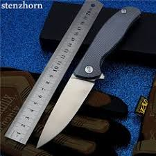 Stenzhorn 2017 New Real <b>D2</b> Bearing Knife <b>Self</b>-<b>defense</b> Outdoor ...
