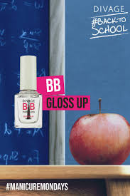 For an ultra-glam <b>manicure</b>, BB Gloss Up is the final touch for giving ...