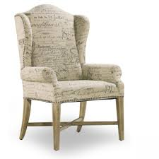 dining chair arms slipcovers:  full size of set of  parchment document fabric hooker furniture wing back dining arm chair