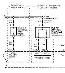 iacv harness wire motor com obd2a