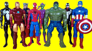 <b>Superhero Marvel toys</b> - Spiderman, Hulk, Iron Man, Thor, Green ...
