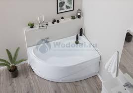 <b>Акриловая ванна Aquanet Graciosa</b> 150x90 R, цена 15358 руб ...