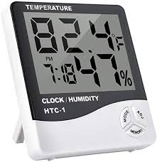 Multi-function <b>Indoor Room LCD Electronic</b> Temperature Humidity…