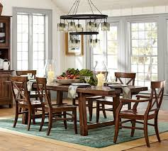 Dining Room Table Pottery Barn Table Prepossessing Big Small Dining Room Sets Bench Seating Table