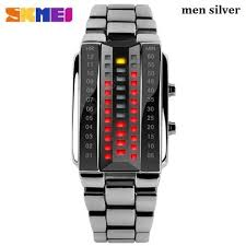 <b>Luxury Lovers Wristwatch Waterproof</b> Men Women Stainless Steel ...