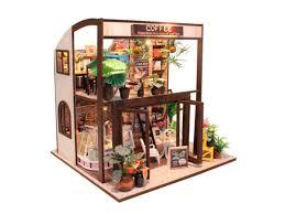 Купить Интерьерный <b>конструктор DIY House</b> Кофейня <b>Coffee</b> ...