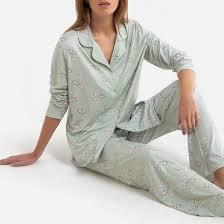 <b>Пижама</b> свободная из переработанного трикотажа джерси ...