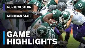 Highlights: Northwestern at Michigan State | Big Ten Football ...