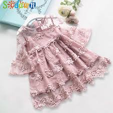 Sodawn <b>2019 Spring New Children</b> Clohting Brand Neck Lace Bow ...